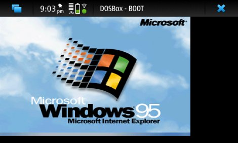 HELP! can not boot windows 95/98 via dosbox - maemo org - Talk