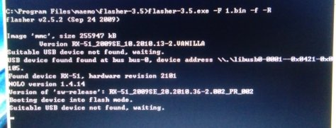 Fixed)N900 can't boot after uninstall 'power-kernel