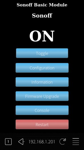 Sonoff basic switch with SailfishOS - Page 2 - maemo org - Talk