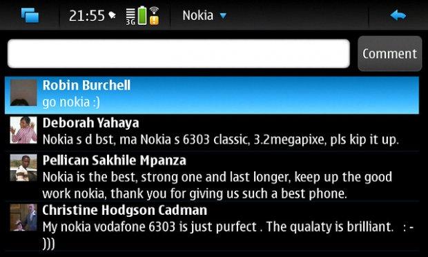 FaceBrick on Nokia N900